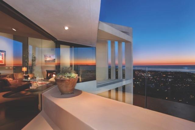 Seaview Estate at Sunset by Veteran Builders