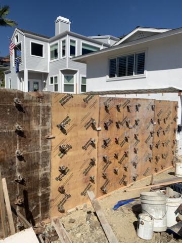 Veteran Builders Balcony Build Pour in Place Walls