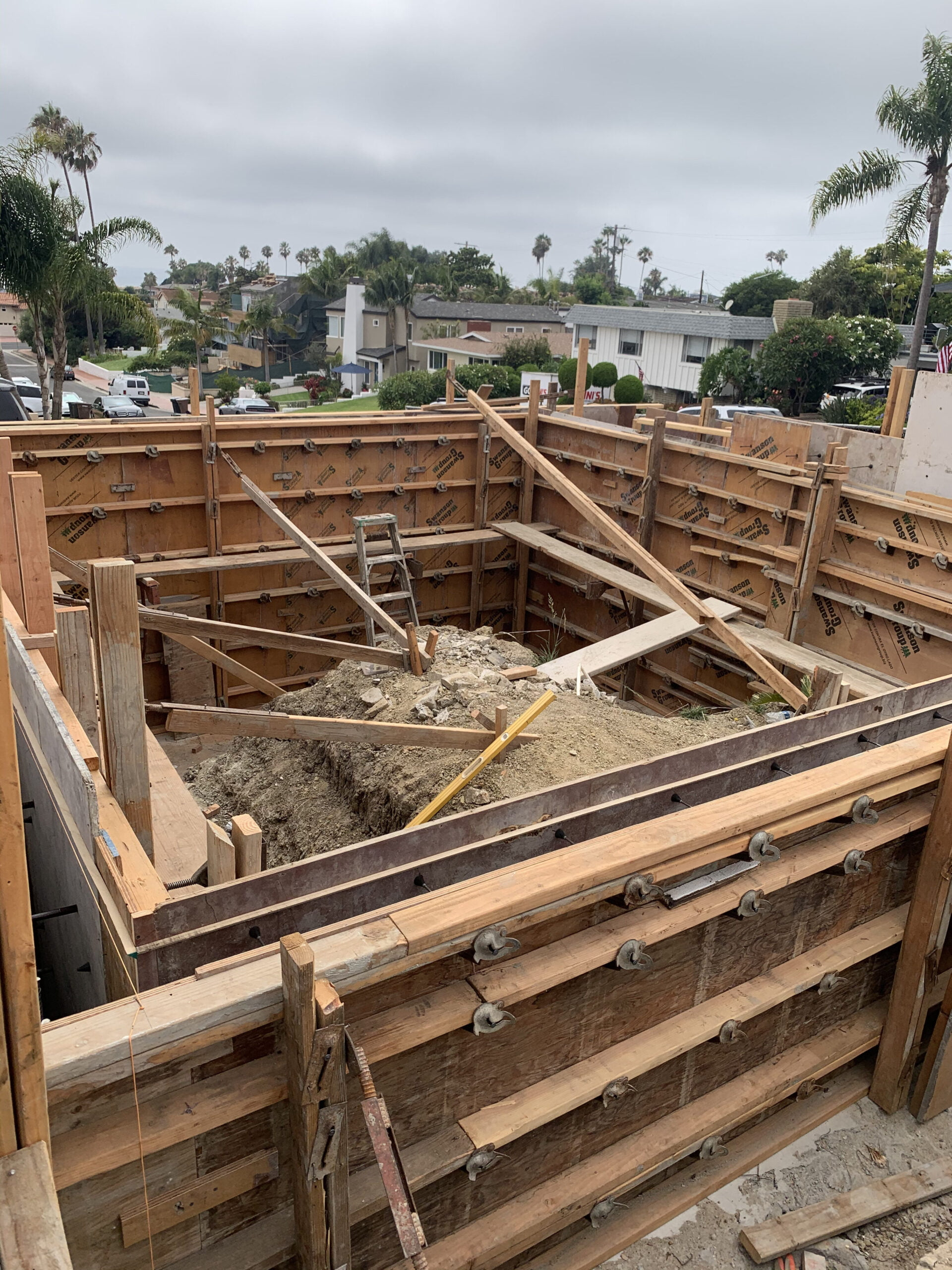 Veteran Builders Balcony Build Pour in Place Concrete